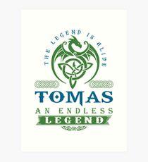 Legend T-shirt - Legend Shirt - Legend Tee - TOMAS An Endless Legend Art Print