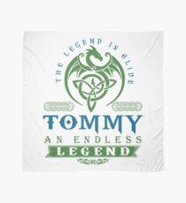 Legend T-shirt - Legend Shirt - Legend Tee - TOMMY An Endless Legend Scarf