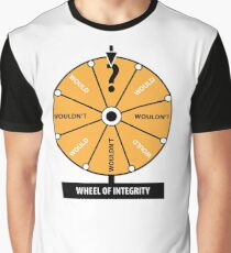 Trump - Wheel of integrity Graphic T-Shirt