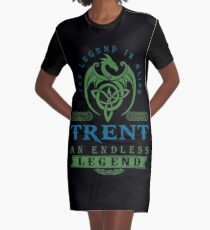 Legend T-shirt - Legend Shirt - Legend Tee - TRENT An Endless Legend Graphic T-Shirt Dress