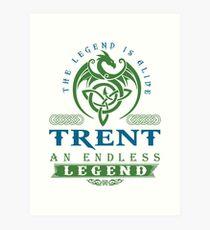 Legend T-shirt - Legend Shirt - Legend Tee - TRENT An Endless Legend Art Print