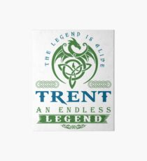 Legend T-shirt - Legend Shirt - Legend Tee - TRENT An Endless Legend Art Board
