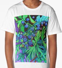 Blackberries and Cedar Long T-Shirt
