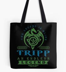 Legend T-shirt - Legend Shirt - Legend Tee - TRIPP An Endless Legend Tote Bag