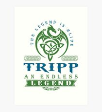Legend T-shirt - Legend Shirt - Legend Tee - TRIPP An Endless Legend Art Print