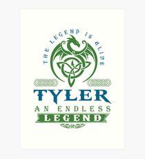 Legend T-shirt - Legend Shirt - Legend Tee - TYLER An Endless Legend Art Print
