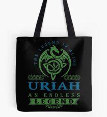 Legend T-shirt - Legend Shirt - Legend Tee - URIAH An Endless Legend Tote Bag