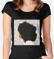Always the baduest Women's Fitted Scoop T-Shirt