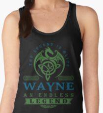 Legend T-shirt - Legend Shirt - Legend Tee - WAYNE An Endless Legend Women's Tank Top