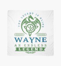 Legend T-shirt - Legend Shirt - Legend Tee - WAYNE An Endless Legend Scarf
