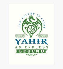 Legend T-shirt - Legend Shirt - Legend Tee - YAHIR An Endless Legend Art Print