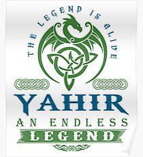 Legend T-shirt - Legend Shirt - Legend Tee - YAHIR An Endless Legend Poster