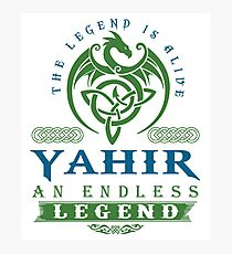 Legend T-shirt - Legend Shirt - Legend Tee - YAHIR An Endless Legend Photographic Print