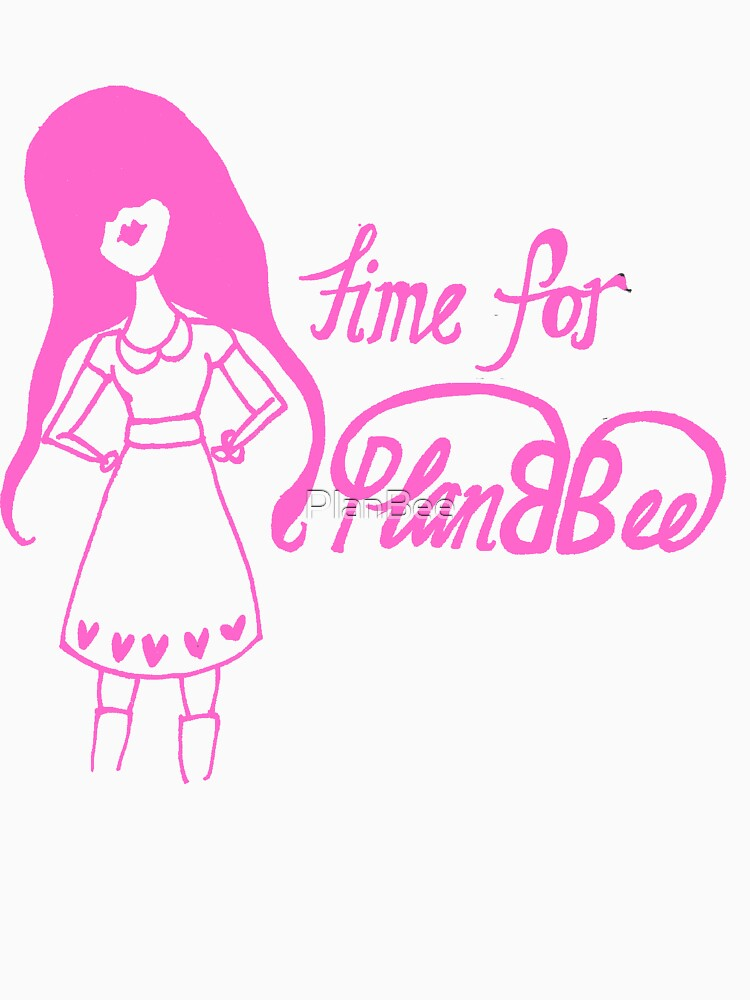 Time for Planbee Girl (in the pink) by PlanBee