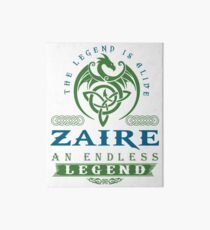 Legend T-shirt - Legend Shirt - Legend Tee - ZAIRE An Endless Legend Art Board