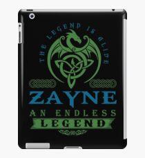 Legend T-shirt - Legend Shirt - Legend Tee - ZAYNE An Endless Legend iPad Case/Skin