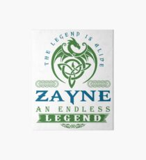 Legend T-shirt - Legend Shirt - Legend Tee - ZAYNE An Endless Legend Art Board