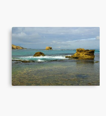 Three rock's Canvas Print