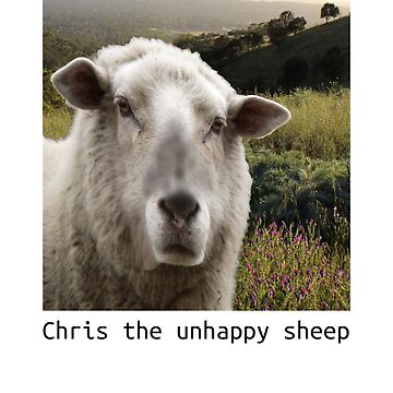 Chris The Unhappy Sheep Father Ted by loganferret