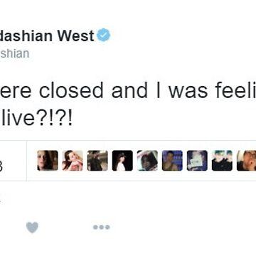Etiqueta engomada de Kim Kardashian Tweet de alyssamio