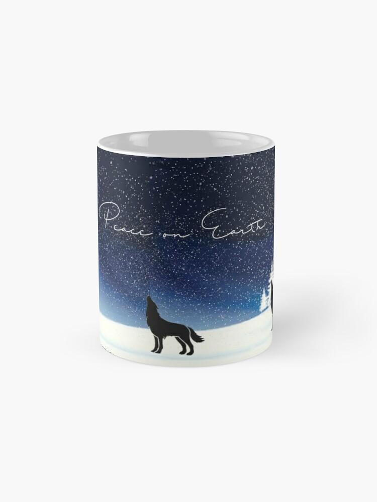 Alternate view of Peace on Earth  Classic Mug