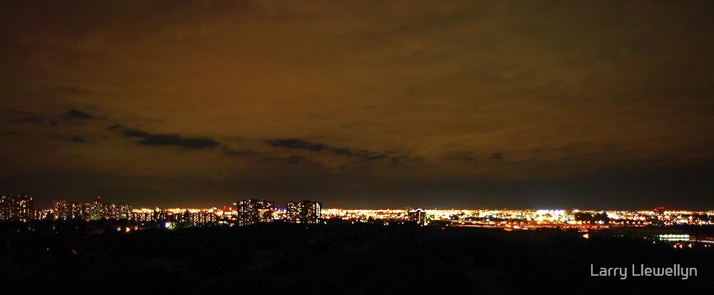 October 1 2009....a crisp night.. by Larry Llewellyn