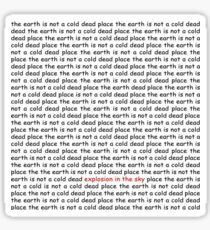 The Earth Is Not A Cold Dead Place Sticker