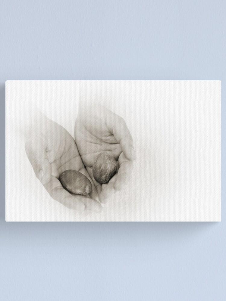 Alternate view of Hands: Wellness Canvas Print