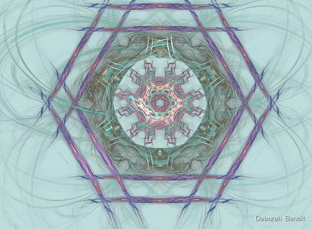 Ancient Astec Design by Deborah  Benoit