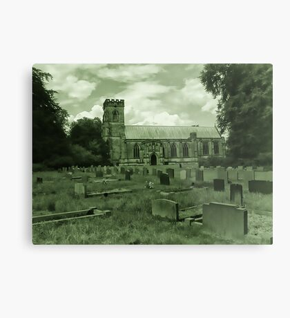 St Mary Church - Sledmere - East Yorks Metal Print