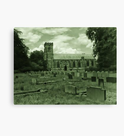St Mary Church - Sledmere - East Yorks Canvas Print