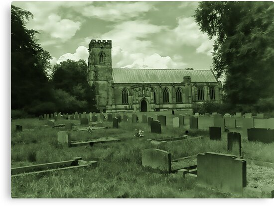 St Mary Church - Sledmere - East Yorks by Trevor Kersley