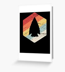 Arrowhead Hunter / Artifact Hunting Greeting Card
