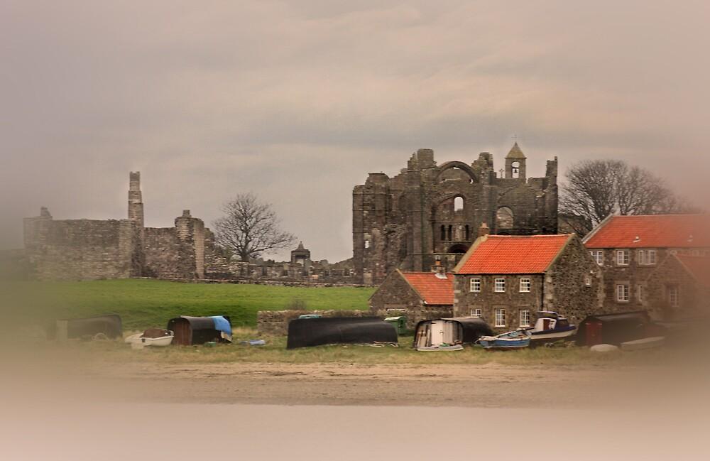 lindisfarne priory - by chris2766
