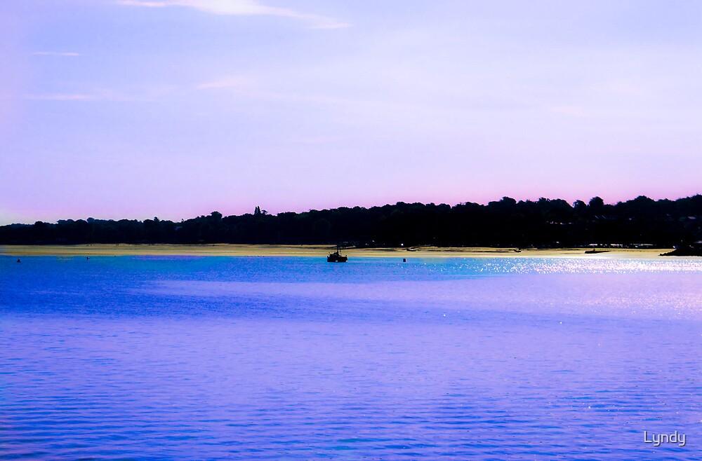 Ryde Pier View by Lyndy
