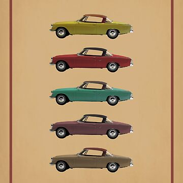 Five Studebakers by DaJellah