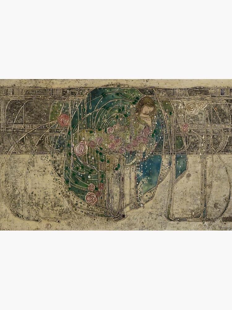 Margaret Macdonald, La princesa durmiente, Glasgow Style, Glasgow School de TOMSREDBUBBLE