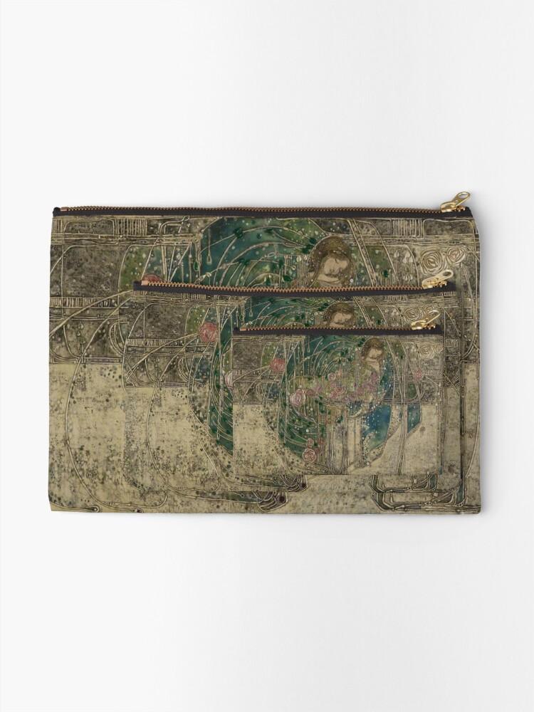 Vista alternativa de Bolsos de mano Margaret Macdonald, La princesa durmiente, Glasgow Style, Glasgow School