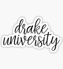 Drake University - Style 1 Sticker