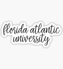 Florida Atlantic University - Style 1 Sticker