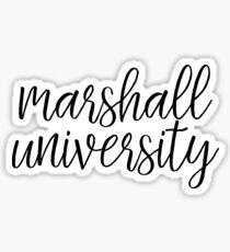 Marshall University - Style 1 Sticker