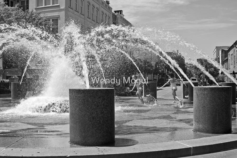 Fountain Fun by Wendy Mogul