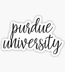 Purdue University - Style 1 Sticker