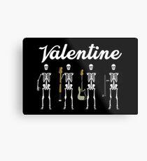 Valentinstag Metallbild