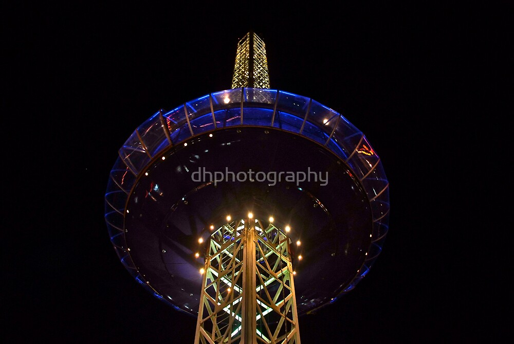 Lighting Tower by dhphotography