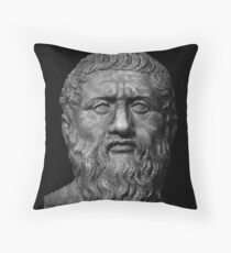 Plato  philosopher Throw Pillow