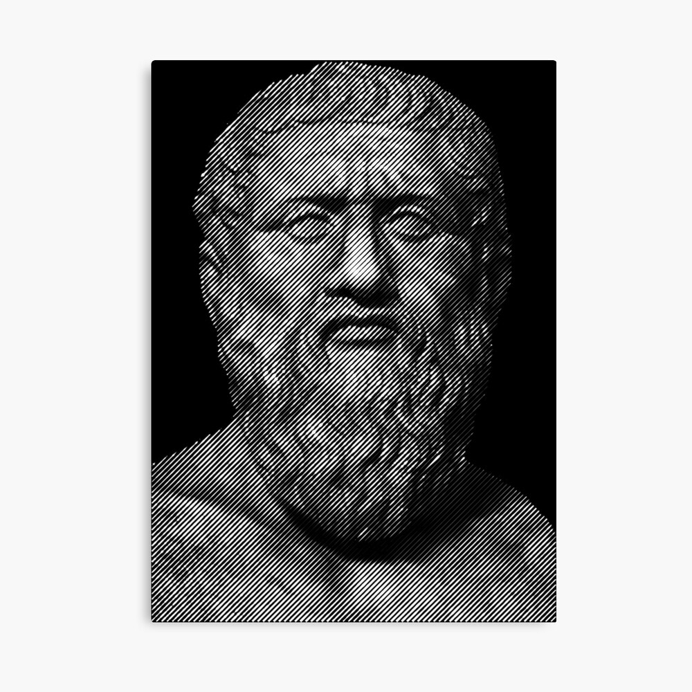 Plato  philosopher Canvas Print