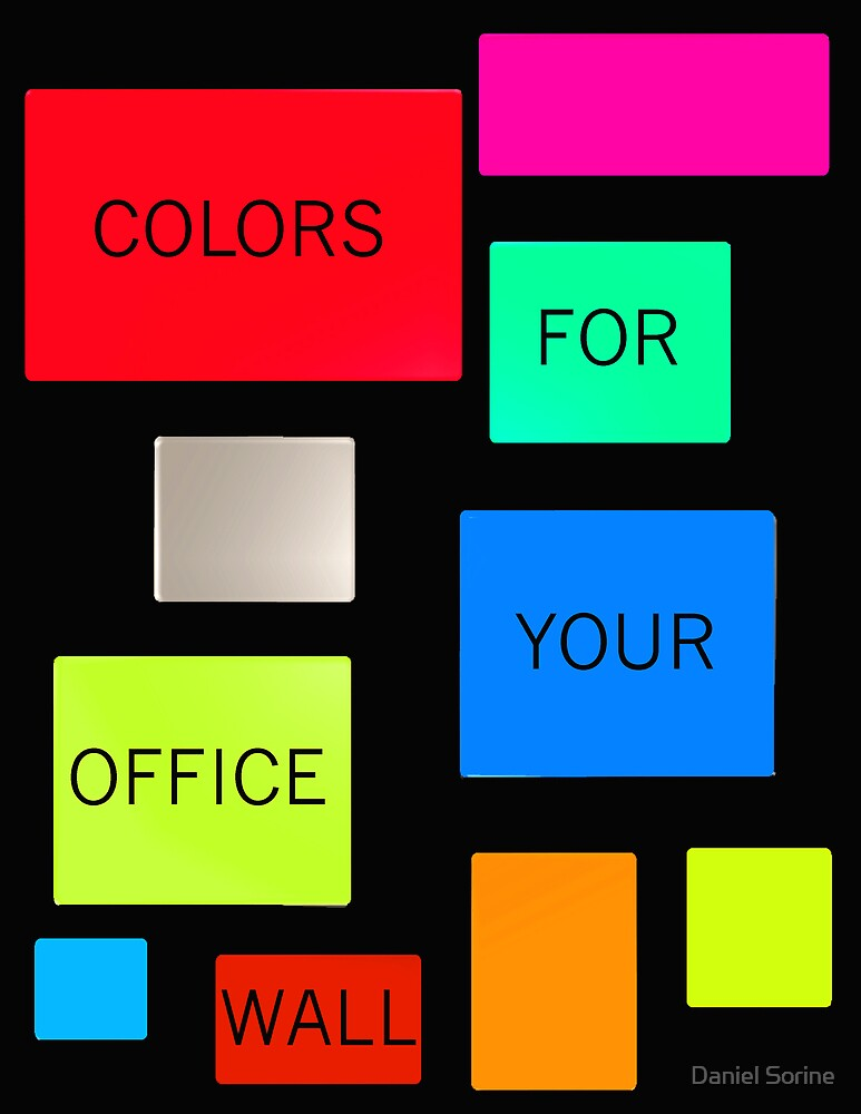 COLORS FOR YOUR OFFICE WALL 2010 Calendar by Daniel Sorine