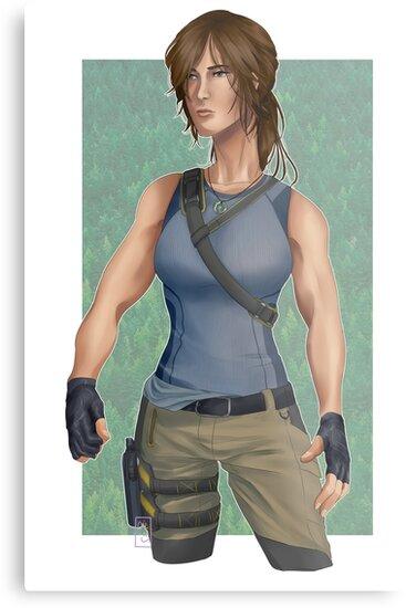 Lara Croft by CAL1C0