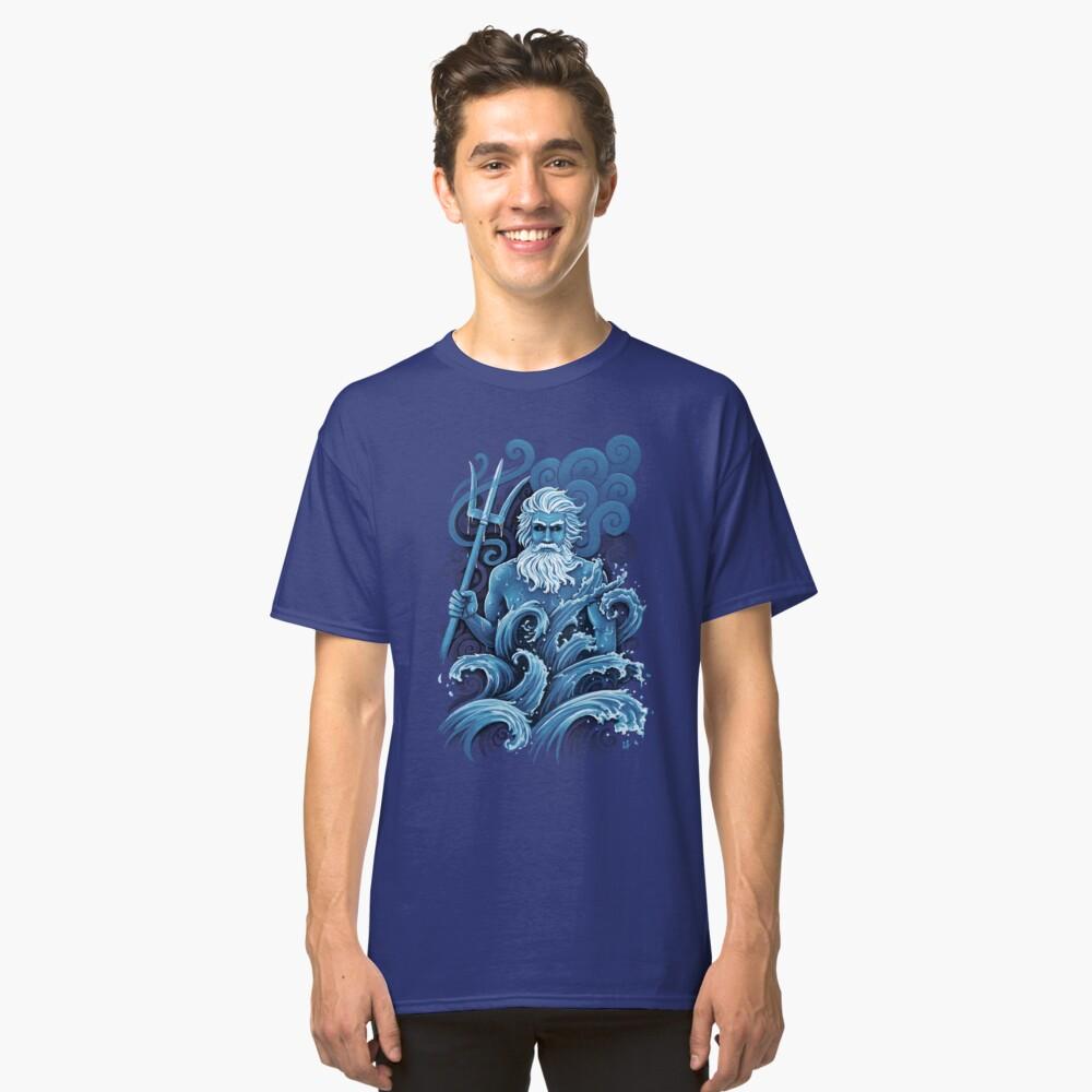 Camiseta clásicaPoseidón Delante
